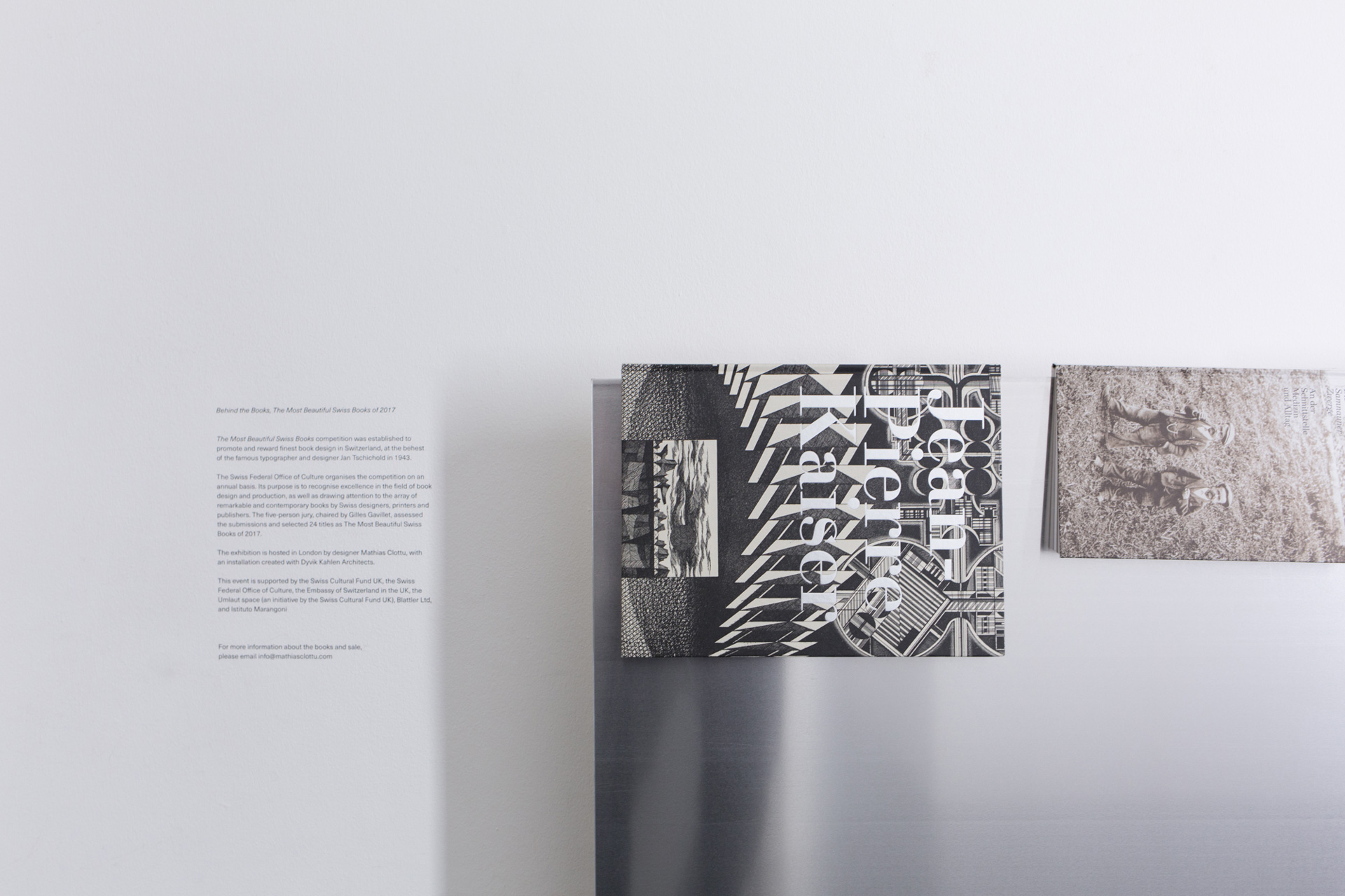 The Most Beautiful Swiss Books 2018 exhibition was one not to be missed. Click to find out more about how we could help with the exhibition.
