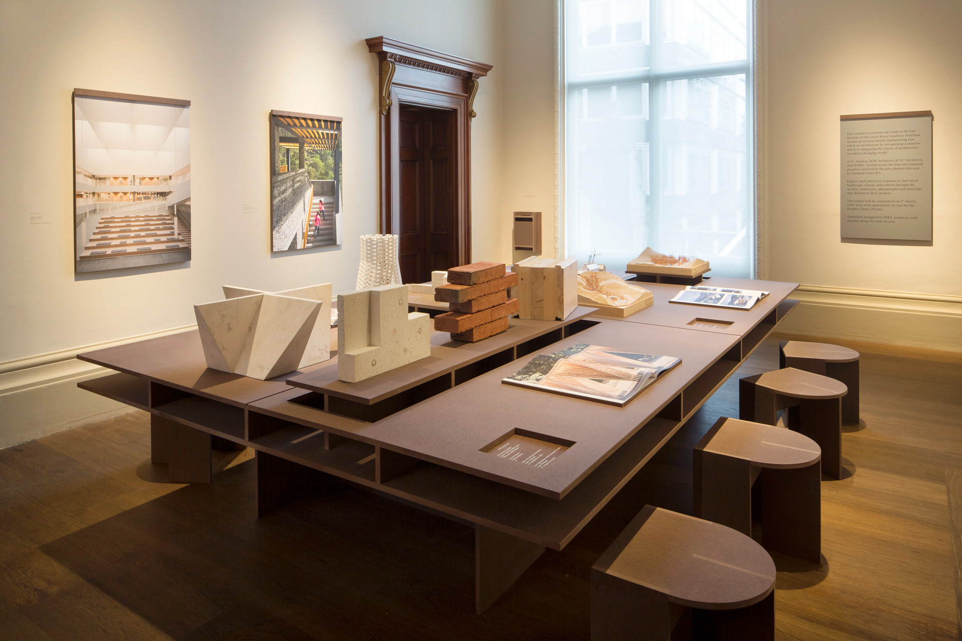 The Royal Academy Dorfman exhibition took place in 2020 at The Royal Acamedy London. We supported EBBA Architects. Click to read.